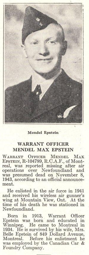 Photo of Mandel Epstein