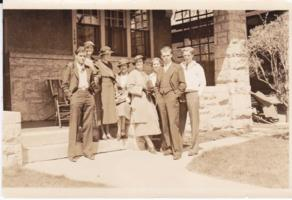 Photo of JOHN RODERICK MCPHERSON – From left to right: Jack (John), Minto, Aileen, Lorraine, Helen, Phylis, Charles and Allen. Submitted for the project, Operation Picture Me