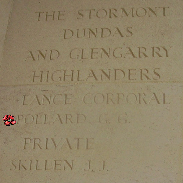 Other – Inscription - Bayeux Memorial … photo courtesy of Marg Liessens