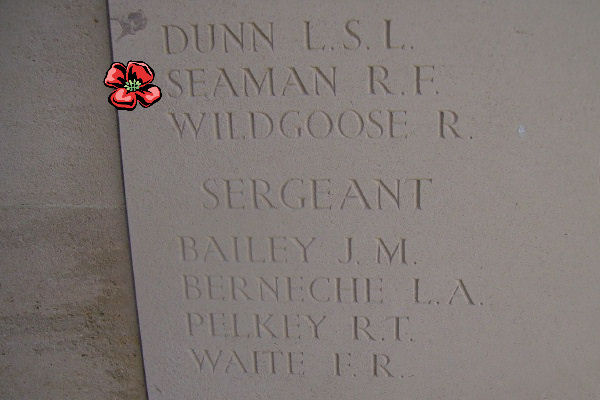 Inscription – Bayeux Memorial … photo courtesy of Marg Liessens
