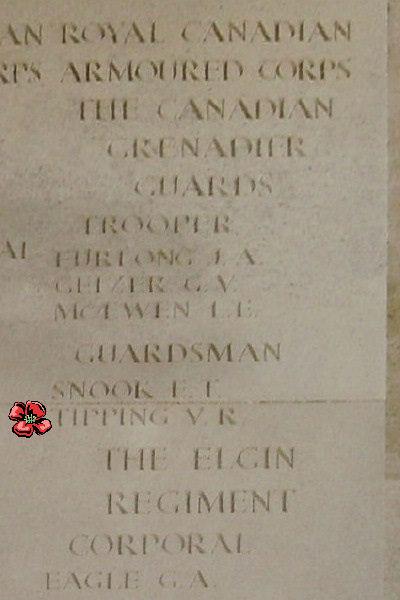Inscription – Bayeux Memorial … photo courtesy of Marg Liessens