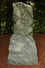 Monument – Museum erected at crash site at Rijsoord, Holland in September 2002.