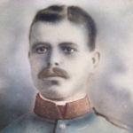 Photo of Frederick Seman – Metro's father, Frederick Seman in uniform in the early 1900's.  He lived in Europe, I do not know what country this uniform is from.