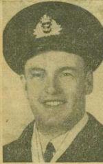 Newspaper Clipping – Lieutenant (E) John Crittenden Watson MIA Montreal Star May 16 1944 courtesy McGill University archives