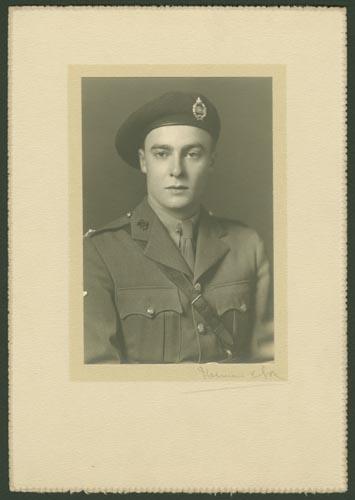 Photo of Alexander Carron Scrimger – Capt Alexander Caron Scrimger courtesy McGill University archives
