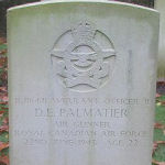 Grave Marker – Photo courtesy of Frans van Cappellen, The Netherlands