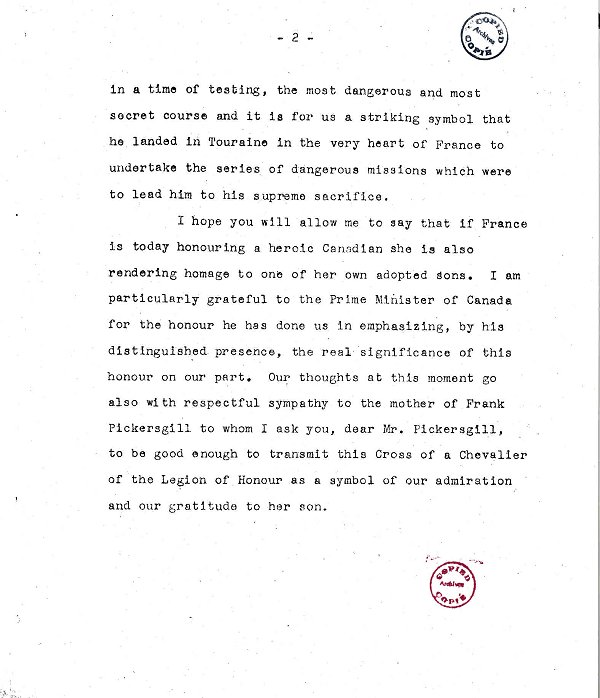 Page 2 of Statement
