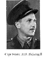 Photo of Frank Pickersgill – From:  University of Toronto Memorial Book Second World War 1939-1945.  The book was published by the Soldiers' Tower Committee, University of Toronto.   Submitted with permission, by Operation Picture Me.