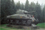 Tank – Tank at the entrance of the Groesbeek Cemetery
