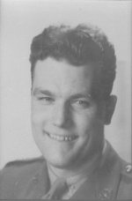 Photo of Edward L. N. Grant – Lieutenant Grant was a replacement officer who joined the QOR in early January 1945 in Holland. He was KIA leading his riflemen of 8 Platoon, Alpha Coy, in combat at Steeg, Germany.