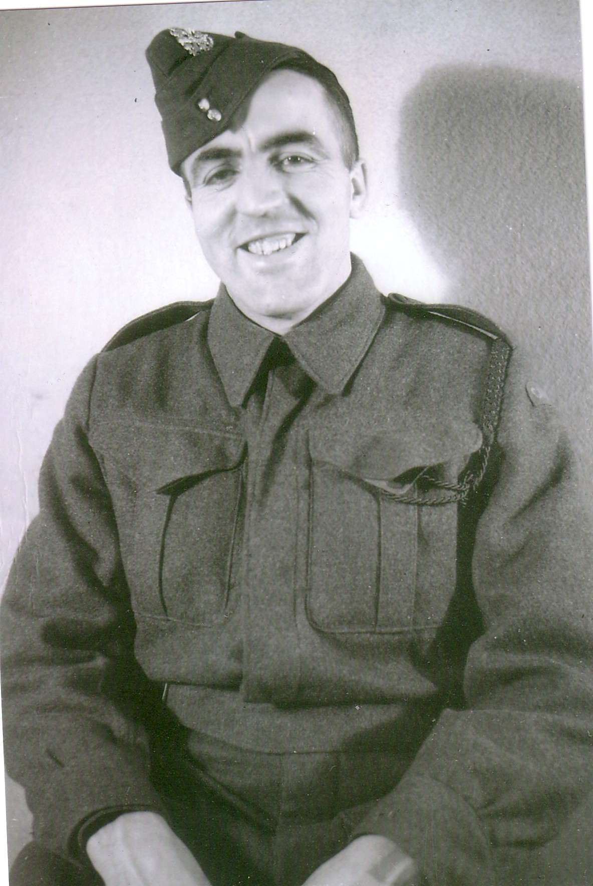Photo of Edward Burrows Hansley – Submitted for the project, Operation Picture Me