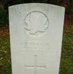 Grave Marker – Grave marker of Emanuel Ward Hartley in Brookwood Cemetery