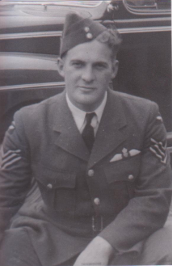 Photo of Humphrey Payne – My Great Uncle, before shipping out to the European Theatre.