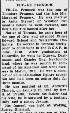 Newspaper clipping – From the Windsor Daily Star. Submitted for the project, Operation: Picture Me
