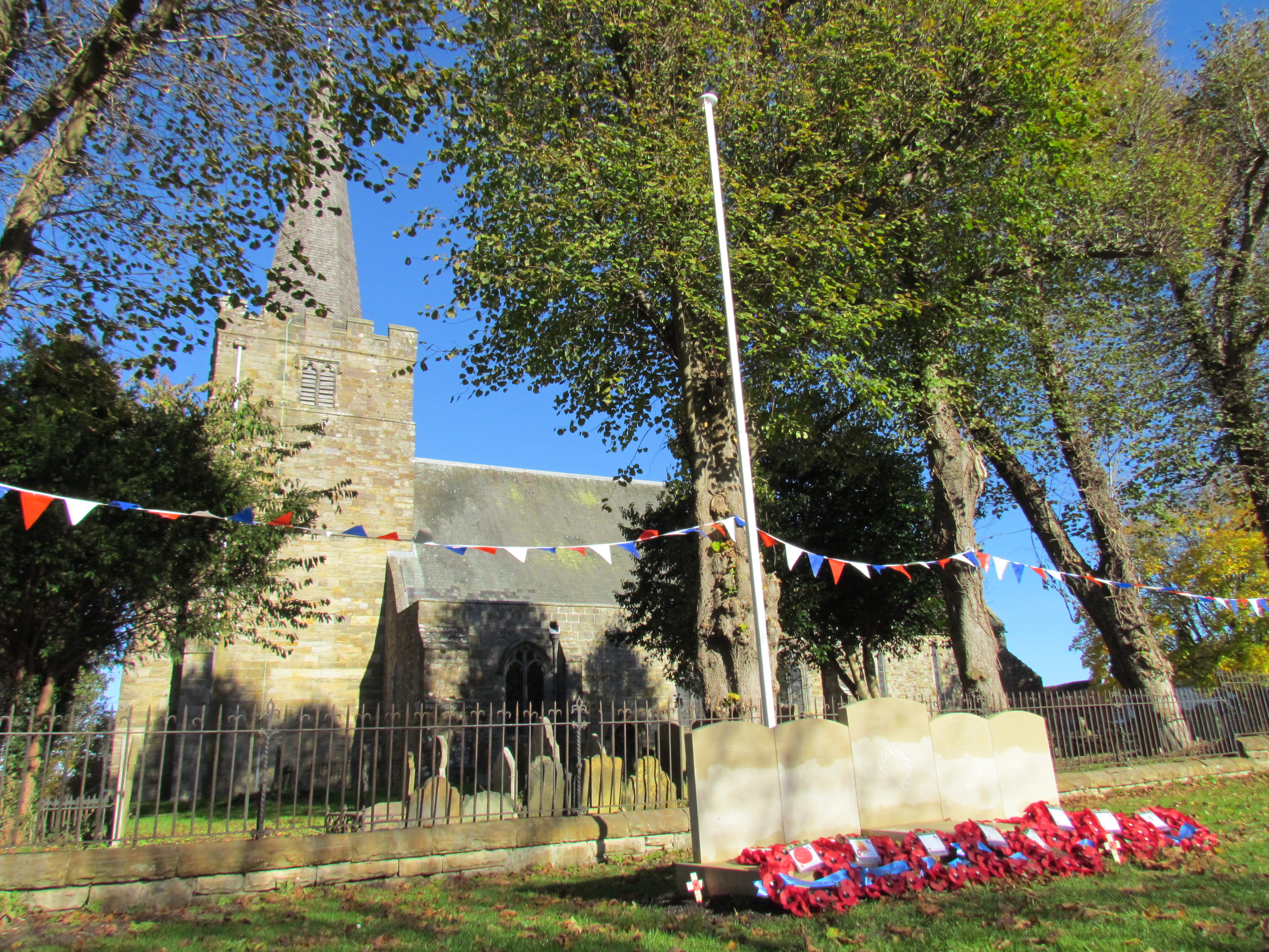 Church – Rotherfield Parish War Memorial Service of Dedication 20th October 2018