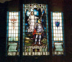 Stained Glass Window – A stained glass window at Silton United Church in Silton, SK was erected by the Silton United Church and Royal Canadian Legion Branch No. 33. These windows are dedicated to the local war dead of the First World War.
