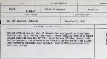 Circumstances of death registers – Submitted for the project, Operation Picture Me