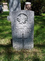 Grave marker – 1385 Capt George Kenneth Crowe (RMC 1934) was the husband of Dorothy M. Crowe, of Montreal, Quebec. He served with the Royal Canadian Engineers. He died on Jun 2, 1940 at 39 years of age. He was buried in the Woodlawn Cemetery in Guelph, Ontario, Canada Sec. 11. Block E. Lot 3. Grave 4.