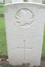Grave Marker – Photo courtesy of Keith Boswell, England