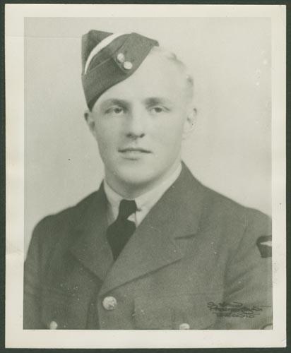 Photo of David Merriman May – Flight Sergeant David Merriman May courtesy McGill University archives