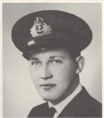 Photo of Charles Paterson – Fatally injured in an accident aboard a Fairmile motor launch in Halifax.  Died January 12th, 1943 at the Camp Hill hospital.
