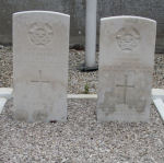 Grave Marker – Happy to assist Canadian Affairs with further information.