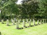 Cemetery – War graves at Boldre Church, Lymington, Hampshire, United Kingdom.