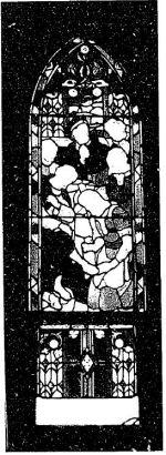 Memorial Stained Glass – Donald Emil Elliot memorial stained glass memorial window (1956) by Charles William Kelsey, St. Lambert United Church, 85, boulevard Desaulniers, Saint-Lambert, QC J4P 1L8 www.stlambertunited.org/
