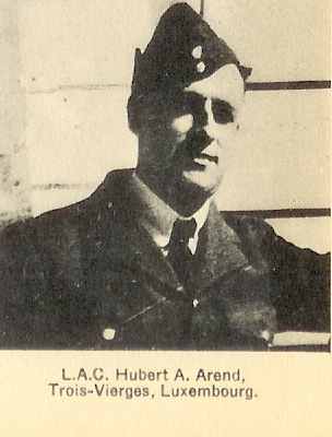 Photo of Hubert Aloyse Arend