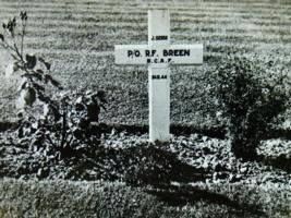 Temporary Grave Marker – Gravesite, LAC, Ottawa