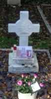 Grave Marker – On the occasion of the 100th Anniversary of Avard's death,  we placed some flowers on behalf of his Great Niece in the United States.
