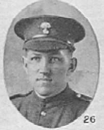 Photo of Harry Nelson Hastie – In memory of the men who served with the 87th Battalion CEF. Submitted for the project, Operation: Picture Me