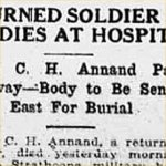 Press Clipping – source: Morning Bulletin (Edmonton); May 4, 1917, page 3
