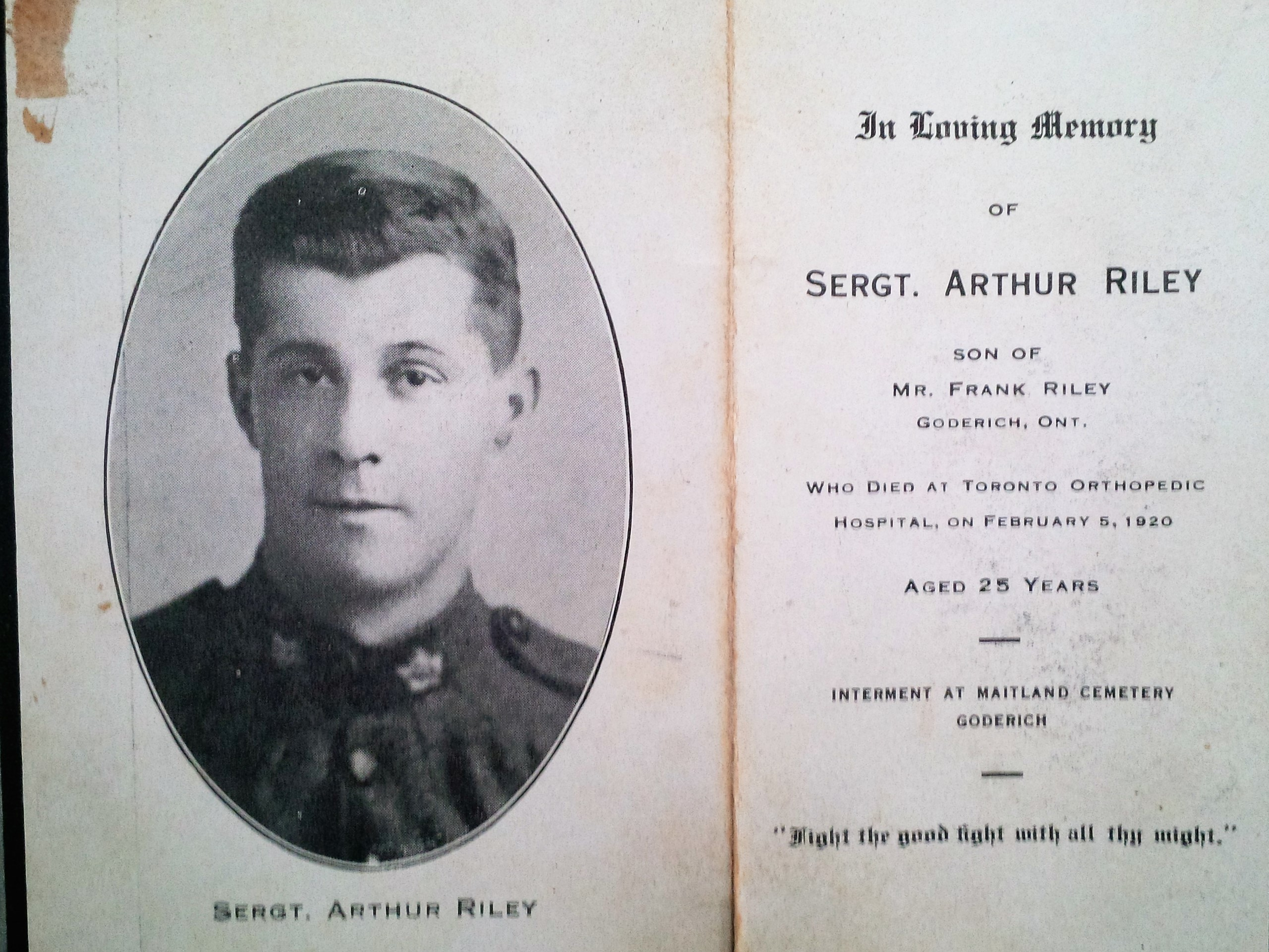 Photo of Arthur Riley