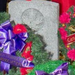 Grave Marker – Since 2009, Sikh members of the Canadian Forces (CF) have attended the annual Sikh Remembrance Day service which is held at the Mount Hope Cemetery in Kitchener, Ontario. This cemetery holds the only military grave in Canada belonging to a Sikh soldier, Private Buckham Singh who fought in World War I. This photo of Bukan Singh's gravestone was taken on Nov 11, 2012.