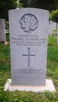 Grave Marker – Restored CWGC Headstone at Woodlawn Memorial Park, Guelph, Wellington County, Ontario, Canada