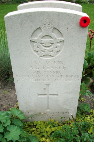 Grave Marker – Grave marker - Berlin 1939 - 1945 War Cemetery - May 2015 Photo courtesy of Marg Liessens
