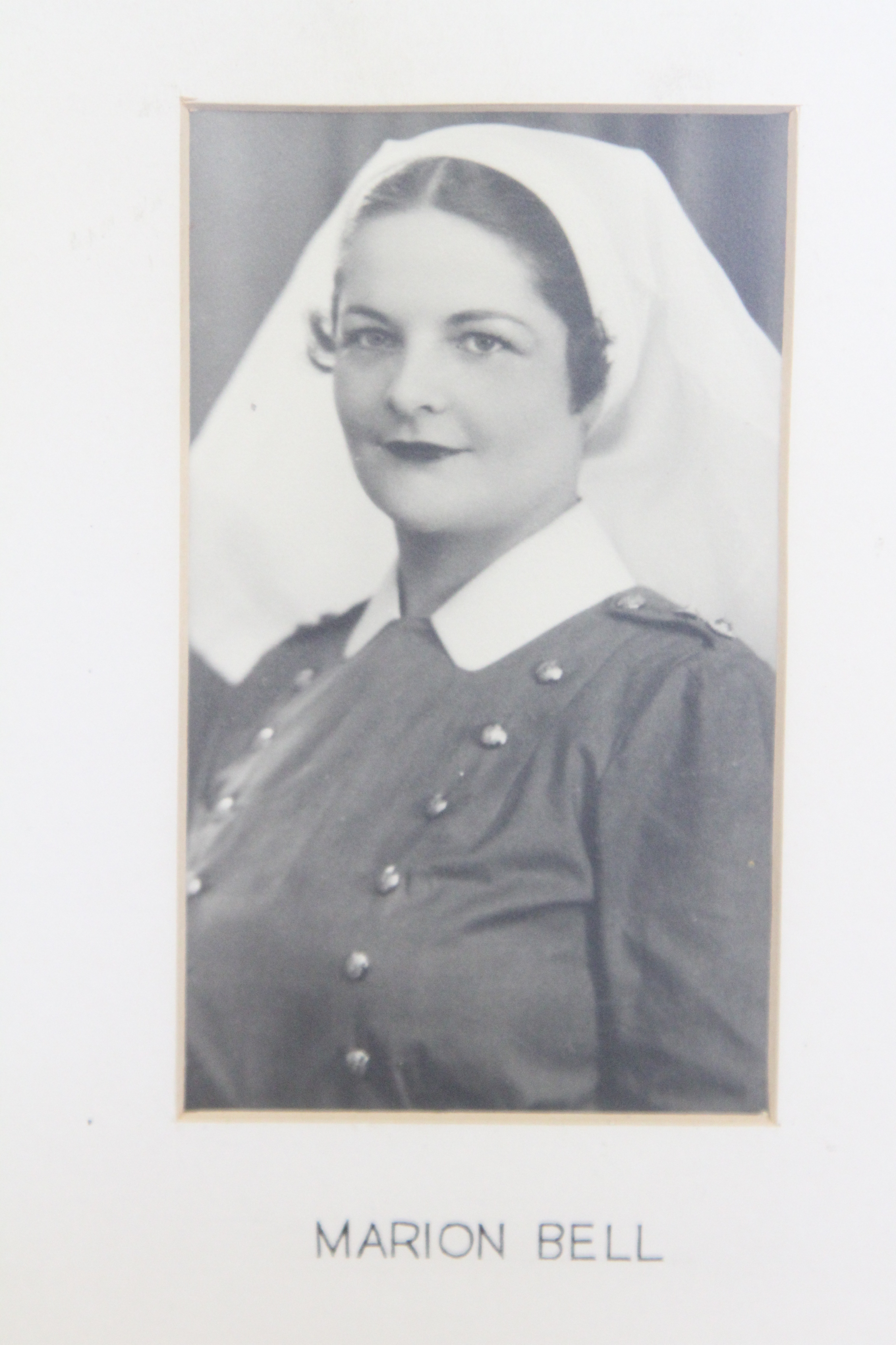 Photo of MARION ELIZABETH BELL – In memory of the students from the Vaughan Road Collegiate Institute  (Toronto) who went away to war and did not come home. Submitted for the project, Operation Picture Me