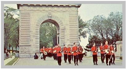 Memorial – Memorial arch, Royal Military College, Kingston, Ontario