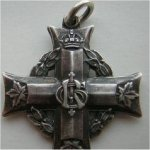 medal – This is a picture of his memorial cross