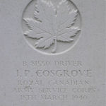 Grave marker – Photo provided by The Commonwealth Roll Of Honour Project. Volunteer Mike and Dale Symmonds
