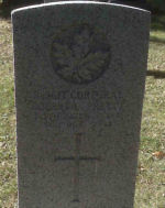 Grave Marker – Corporal Pretty's Commonwealth War Graves Commission headstone