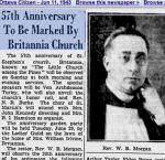 Newspaper clipping – Saint Stephen's Anglican Britannia, Ontario honour roll