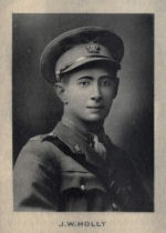Photo of James Holly – From Memorial of the Great War, 1914-1918 published by the Bank of Montreal 1921.