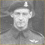 """Photo of Wendell James Clark – This photo of RSM Clark was obtained from """"Out of the Clouds"""", the history of 1st Canadian Parachute Battalion in WW II."""