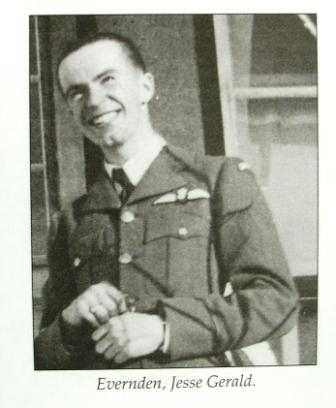 Photo of Jesse Gerald Everden – Photo of Jesse 'GERALD' or 'Gerry' Evernden from Bentley History Book