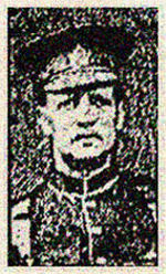 Newspaper clipping – Corp. Benjamin Dornan was born in Glasgow, Scotland.  He enlisted in Toronto's 83rd Battalion C.E.F. on August 17th, 1915.