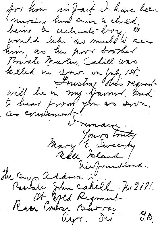Lettre to R.H. Bennett - page 2