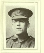 Photo of Martin Joseph Cahill – In memory of the men would served in the Royal Newfoundland Regiment during World War I and did not return home.  Submitted for the project Operation: Picture Me.