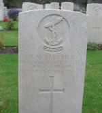 Grave Marker – Picture of his grave. It was taken by John Hawley who visited the cemetery. John's father was a sailor aboard HMCS Regina. His father survived the sinking. John wants to share this picture with relatives of this sailor. He sent it to me and asked to post it on this site.